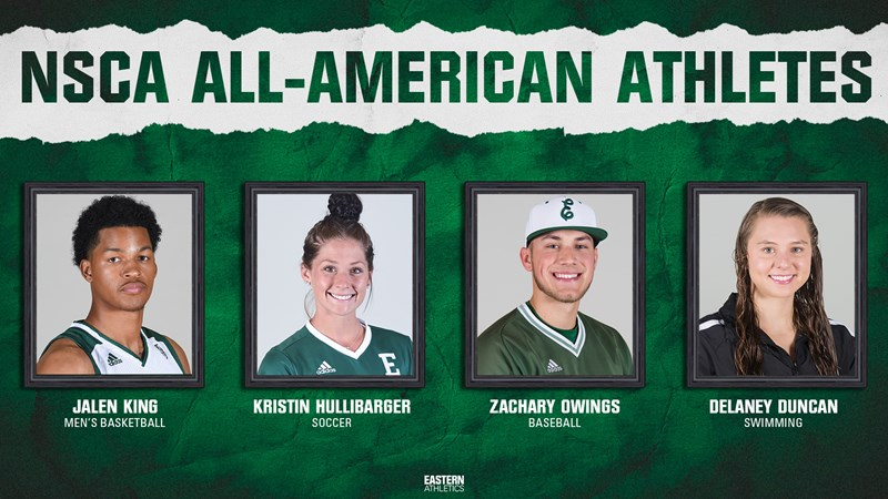 Four Eagles Tabbed NSCA All-Americans - Eastern Michigan